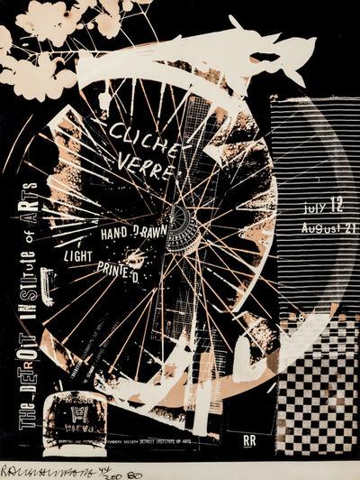 Robert Rauschenberg, 'Cliche' Verre', 1980