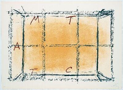 Antoni Tàpies, 'Llambrec-18', 1975