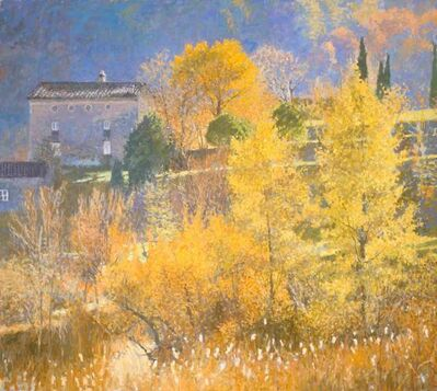 Nicholas Verrall, 'Autumn in the Provence Hills', 2020