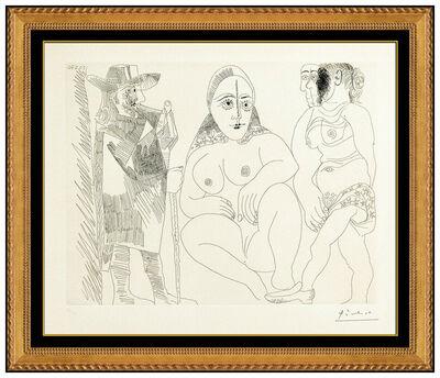 Pablo Picasso, 'Couple et Voyageuse', 1970