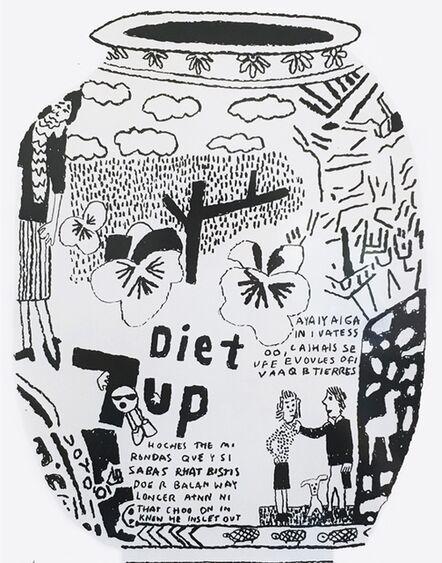 Jonas Wood, 'DIET 7UP POT', 2016