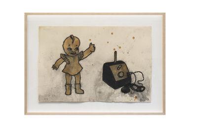 David Lynch, 'Kewpie Doll and Crystal Set', 2012