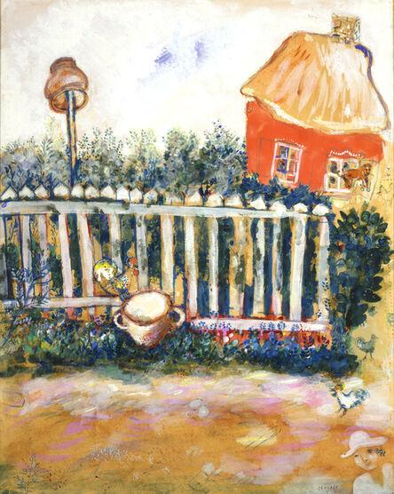 """Marc Chagall, 'Dessin original pour """"Le Pot de terre et le Pot de fer""""', 1927"""