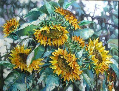Zhang Shengzan 张胜赞, 'Sunflowers', 2015