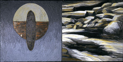 Kay WalkingStick, 'Night', 1991