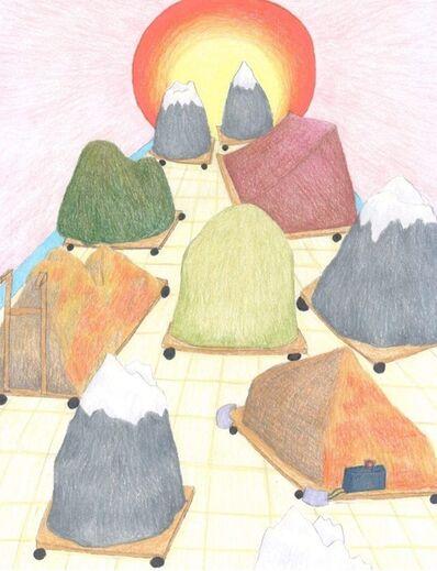 Sherry Walchuk, 'Mountains Move Towards the Sun Tunnel', 2018