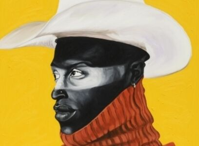 Otis Kwame Kye Quaicoe, 'Side profile of David Theodore', 2019