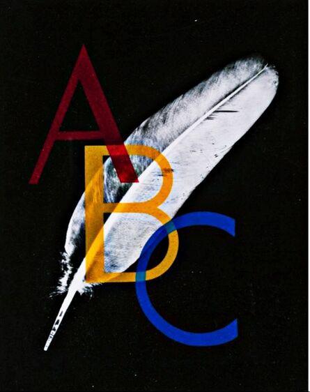 Man Ray, 'Alphabet Pour Adultes (Cover Print)', 1970