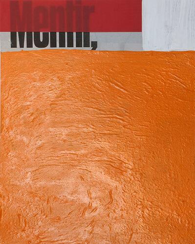 Miquel Mont, 'Mentir', 2016