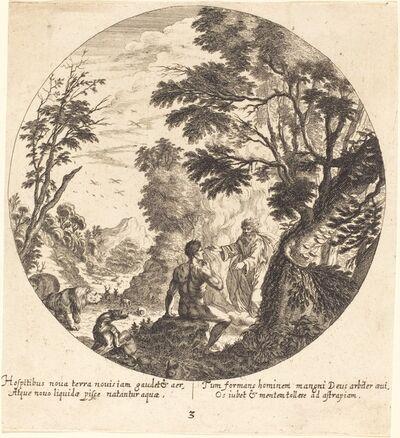 Georg Andreas Wolfgang, the Elder, 'God Creating Man', 1665