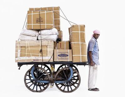 Martin Roemers, 'Handcart #2; Courier Sajjan Singh (Ujjain, Madhya Pradesh)', 2019