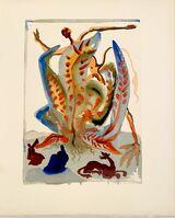 Salvador Dalí, 'La Divine Comédie - Purgatoire 23 - La Gourmandise', 1963
