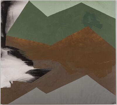 Otto Rogers, 'Green Mountain, White Surf'