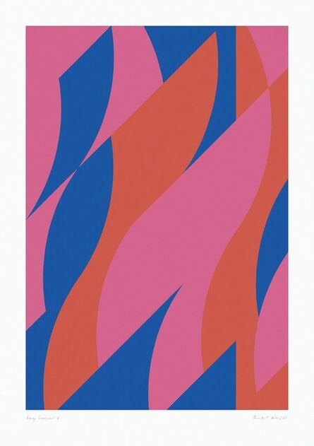 Bridget Riley, 'Large Fragment II', ca. 2009