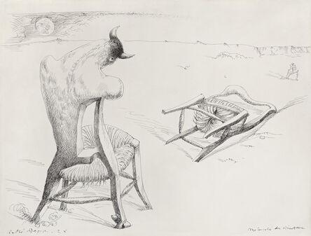 André Masson, 'Mélancolie du Minotaure', 1938