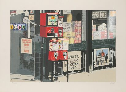 Charles Bell, 'Little Italy, Gumball Machines', 1981