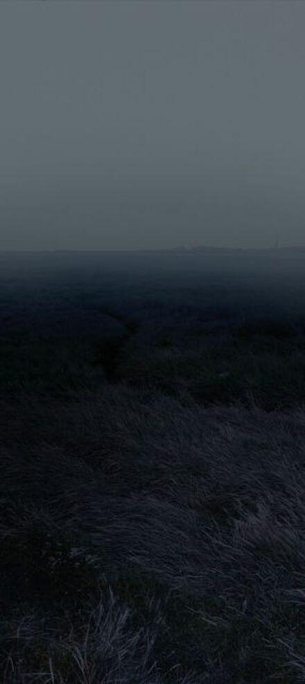 "Nadav Kander, 'Horizons I, (Coalhouse Fort towards St Mary Hoo), England, from the series, ""Dark Line - The Thames Estuary""', 2015"