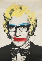 Mr. Brainwash, 'Yves Saint Laurent, Marilyn', 2008