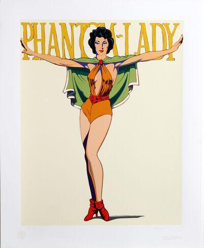 Mel Ramos, 'Phantom-Lady', 1990
