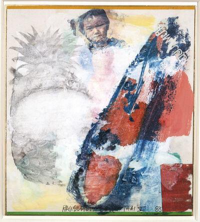 Robert Rauschenberg, 'Thai V', 1983