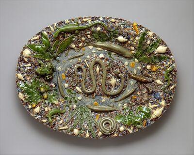 Follower of Bernard Palissy, 'Platter', last quarter 16th century