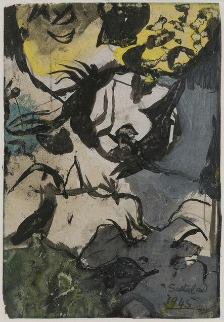 Graham Sutherland, 'Study for Entrance to a Lane', 1945
