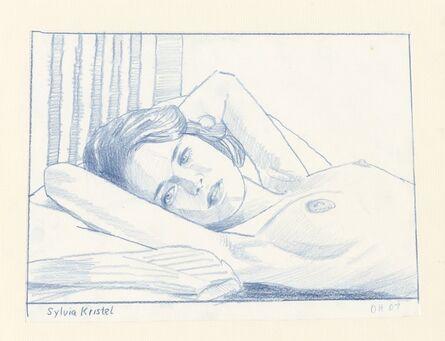 Duncan Hannah, 'Sylvia Kristel', 2007