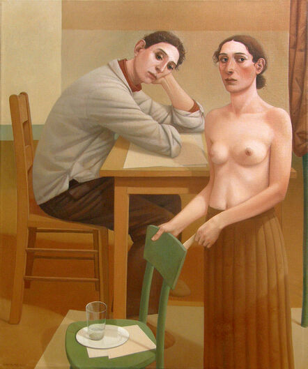 Alan Feltus, 'The Young Man and the Flower Lady', 2010
