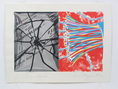 James Rosenquist, 'Busy Signal', 1970
