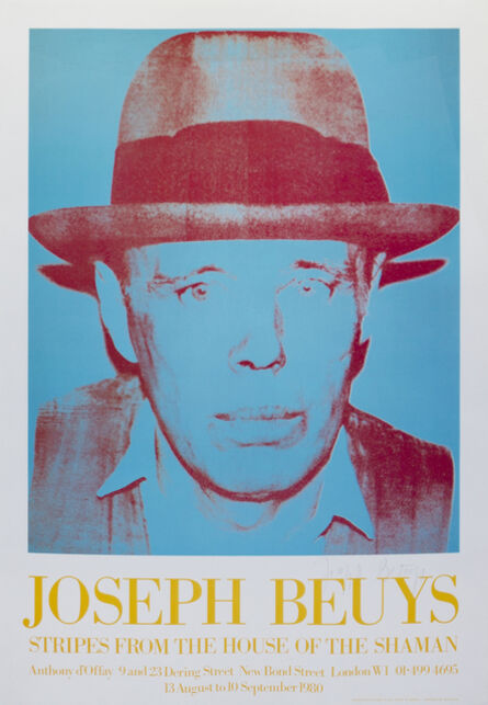 Joseph Beuys, 'Stripes From the House of the Shaman, after Andy Warhol', 1980