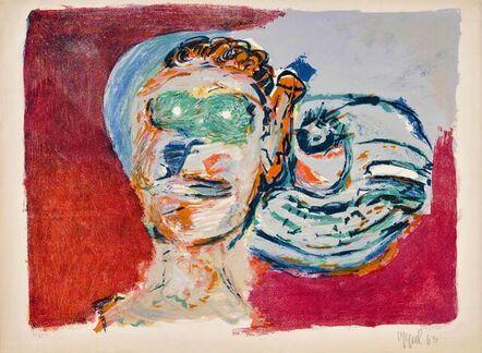 Karel Appel, 'Regard vers l'infini', 1963