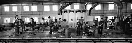 Pierre Bessard, 'Workers in the Number 1 Glass Factory in Pyongyang', 2001