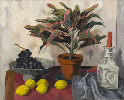 Anne Lyman Powers, 'Still Life with Lemons and Grapes'