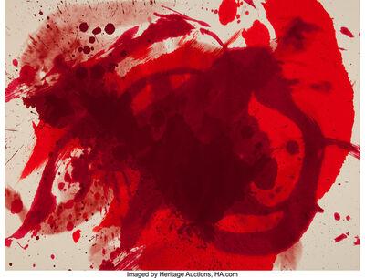 Kazuo Shiraga, 'Passionate Winter', 1988