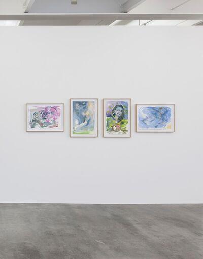 Sophie von Hellermann, 'Untitled I–IV', 2014