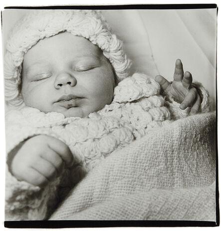 Diane Arbus, 'A sleeping baby, N.J.', 1968