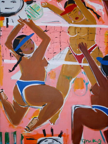 Monica Kim Garza, 'Volleyball', 2017