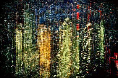 Ernst Haas, 'Lights of New York City', 1972