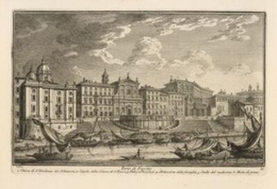 Giuseppe Vasi, 'Porto di Ripetta', 1747