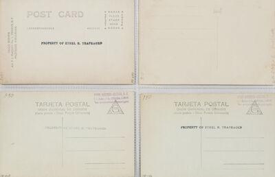 Hugo Brehme, 'A Group of Four Postcards'