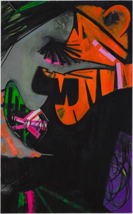 Ellen Berkenblit, 'True Blue Mirror, ', 2015
