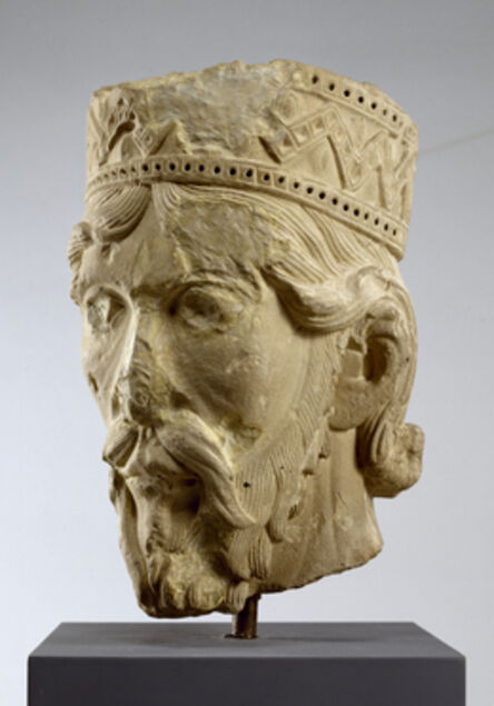 'Head of an Old Testament King', ca. 1140
