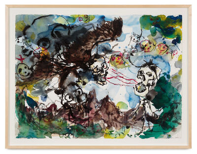 Brad Kahlhamer, 'Superstitions yonder', 2004