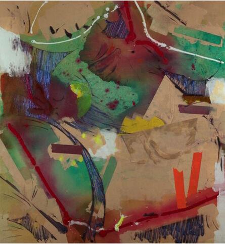 Walter Darby Bannard, 'Parnassus(15-16B)', 2015