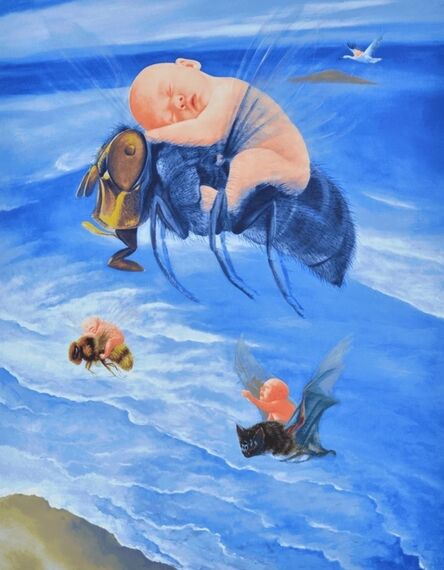Fang Lijun 方力钧, 'Untitled', 2010
