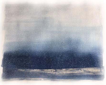 Katie Heffelfinger, 'Color Study in Winter Blue (unframed)', 2017