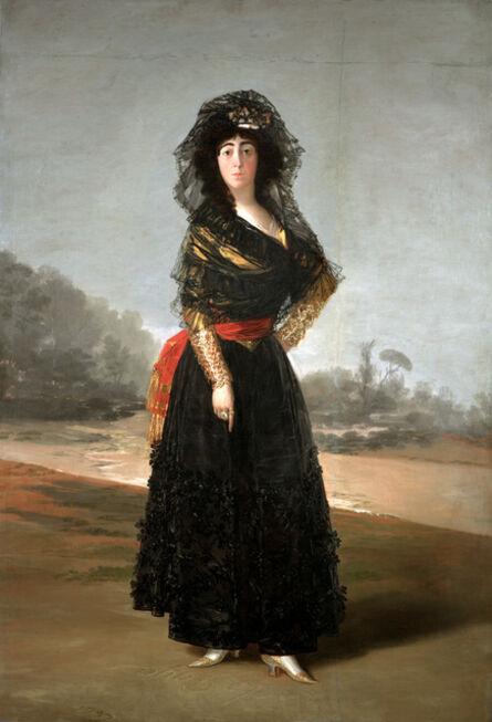 Francisco de Goya, 'The Duchess of Alba', 1797