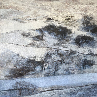 Victoria Crowe, 'How the Snow Lay on the Hill', 2021