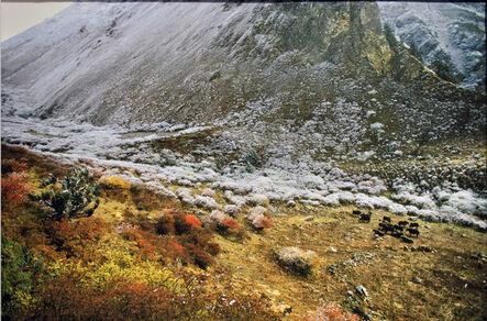 Olivier Föllmi, 'Au pied du Jhomolhari, Bhoutan'