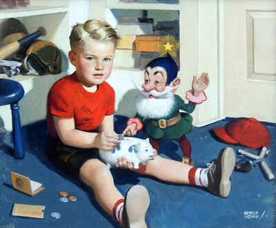 Andrew Loomis, 'Tiny Tawkers, May'